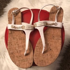 Shoes - Gorgeous Summery Sandals by Guess Rhinestones